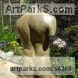 Stained and Polished Concrete Garden Or Yard / Outside and Outdoor sculpture by sculptor David Corbett titled: 'Classical Male Torso (life size Man`s Chest garden sculpture)' - Artwork View 3