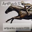 "bronze Horse Sculpture / Equines Race Horses Pack HorseCart Horses Plough Horsess by David Cornell titled: ""DESERT ORCHID"""