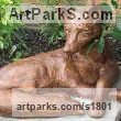 Bronze Resin Animals in General sculpture sculpture by sculptor Dreene Cotton titled: 'Freddie'