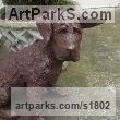 Bronze Resin Animals in General sculpture sculpture by sculptor Dreene Cotton titled: 'Spike'