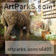 Willow Horses Outdoors, Outside, Life Size, Big, Large, Huge sculpture memorials commissions custom made sculpture by sculptor Emma Walker titled: 'Willow FOAL (Standing sculpture for Outside Outdoors)'