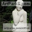 Limstone Nudes, Female sculpture by Henrietta Bud titled: 'Lot`s Wife'