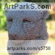 Chicken Wire Animal Birds Fish Busts or Heads or Masks or Trophies For Sale or Commission sculpture by sculptor Ivan Lovatt titled: 'Cheetah (Wire Mesh Head Portrait Big Cat sculptures for Indoors)'