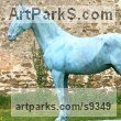 Bronze Resin Public Art sculpture by Jasper Lyon titled: 'Horse (Standing Weathered life size Equine sculptures)'