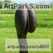 Oak wood Abstract Contemporary or Modern Outdoor Outside Exterior Garden / Yard sculpture statuary sculpture by sculptor Jeremy Palmer titled: 'Man on Box (Erect Phallic Wood garden/Yard sculpture/statue)' - Artwork View 2