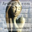 Patina Bronze Resin Aspirational / Inspirational Sculptures or Statues sculpture by Jo Ansell titled: 'Valentina'