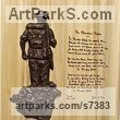 "bronze and Wood Plaques, Medals, Medalions, Coins, Tokens, Commemorative Customised Commission or Bespoke by Laura Lian titled: ""Unknown Soldier/Flanders field"""