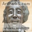 Bronze Resin (also available as a foundry bronze POA) Pop Art sculpture by Linda Preece titled: 'Bob Marley (bronze Pop Star Reggae Singer Bust statues)'