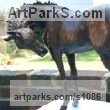 "bronze Horses Small, for Indoors and Inside Display statue statuettes sculpture figurines commissions commemoratives by Marie Ackers titled: ""Lily (Horse Little Indoor bronze sculpture statue for sale)"""