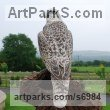 Animals in General sculpture sculpture by sculptor Martyn Bednarczuk titled: 'Gyre Falcon'