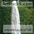 Portland stone granite plinth Abstract Contemporary or Modern Outdoor Outside Exterior Garden / Yard Sculptures Statues statuary sculpture by Nicola Axe titled: 'Akhenaten'
