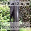 Granite Garden Or Yard / Outside and Outdoor sculpture by sculptor Rob J Maingay titled: 'Upright (Tall Carved Black Granite abstract Modern Columnar sculptures)' - Artwork View 1