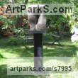Bronze Abstract Contemporary or Modern Outdoor Outside Exterior Garden / Yard Sculptures Statues statuary sculpture by Rosemarie Powell titled: 'abstract 4'