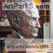 Bronze Portrait Sculptures / Commission or Bespoke or Customised sculpture by sculptor Rosie Sturgis titled: 'Hon William Douglas-Home (Bronze Portrait Bust sculpture)' - Artwork View 3