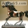 Bronze Horses Small, for Indoors and Inside Display sculpturettes Sculptures figurines commissions commemoratives sculpture by sculptor Sheila Mitchell titled: 'Bronze Horse'