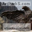 Bronze Birds of Prey / Raptors sculpture by Stephane Deguilhen titled: 'Bald Eagle'