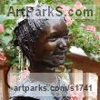 Bronze Sculpture of Children by Susan Gulla-O`Leary titled: 'Portrait Bust, 12 Year Old Girl Commission (bronze sculpture/statues)'
