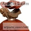 Cold cast Iron Abstract Modern Contemporary Avant Garde Sculptures Statues statuettes figurines statuary both Indoor Or outside sculpture by Terry New titled: 'Terrain 2 (Contemporary abstract Coloured Outsize statue)'