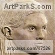 Limestone stone Sculptures of females by Thomas Kenrick titled: 'Amelia 2D'