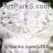 Marble Garden Or Yard / Outside and Outdoor sculpture by sculptor Timothy Shutter titled: 'Half Sheep' - Artwork View 3