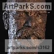 Bronze Portrait Sculptures / Commission or Bespoke or Customised sculpture by sculptor William Mather titled: 'Kirk Thorn (Bespoke Portrait Bust Example sculpture)' - Artwork View 2