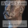 Bronze Portrait Sculptures / Commission or Bespoke or Customised sculpture by sculptor William Mather titled: 'Kirk Thorn (Bespoke Portrait Bust Example sculpture)' - Artwork View 3