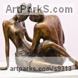 Nude or Naked Couples or Lovers sculpture by sculptor Zakir Ahmedov titled: 'Love'